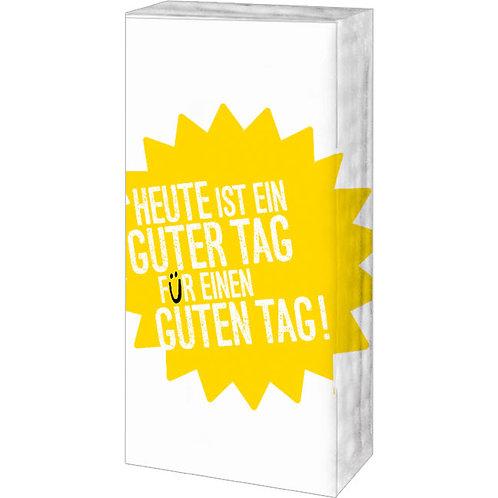 Papiertaschentücher »Guter Tag«