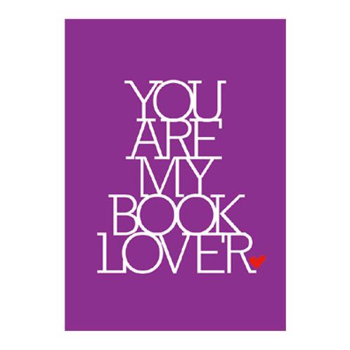 Bookoholiker-Karte »Booklover«