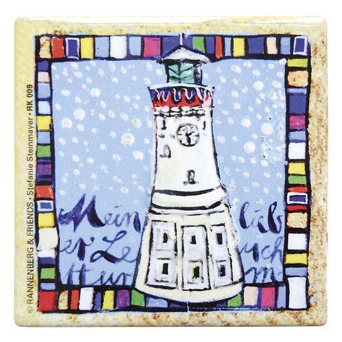 Kachel »Mein lieber Leuchtturm«