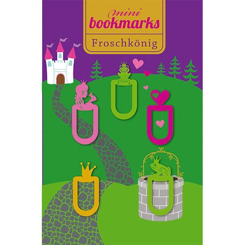 Mini-Bookmarks »Froschkönig«