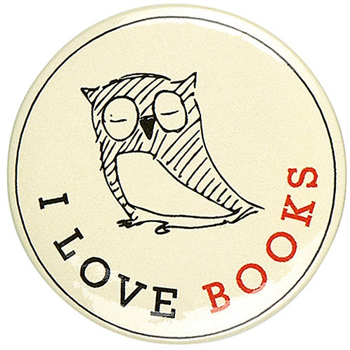 Button »I love Books«