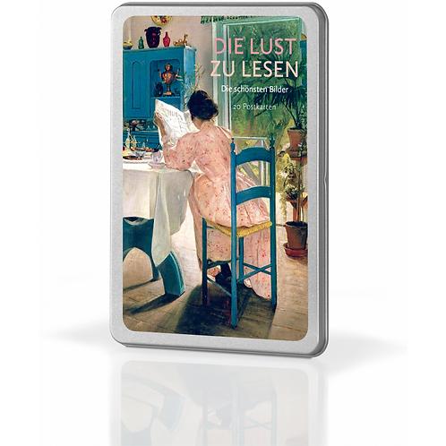 Postkartenset »Die Lust zu lesen«