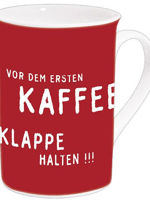 Becher »Vor dem ersten Kaffee«