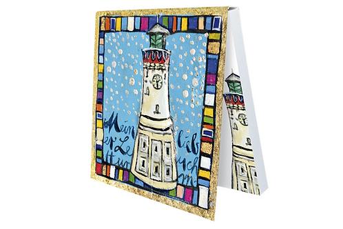 Klebezettel »Mein lieber Leuchtturm«