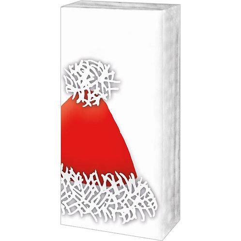 Papiertaschentücher »Rote Weihnachtsmütze«