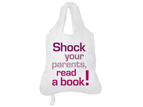 Einkaufsbeutel »Shock your parents«