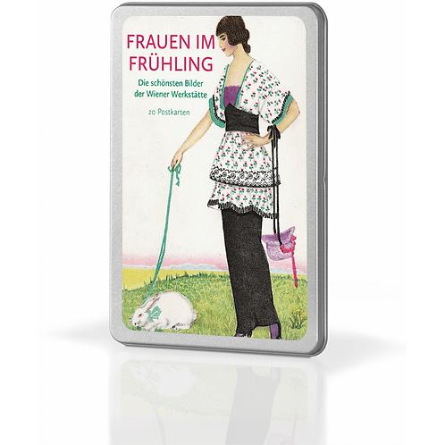 Postkartenset »Frauen im Frühling«