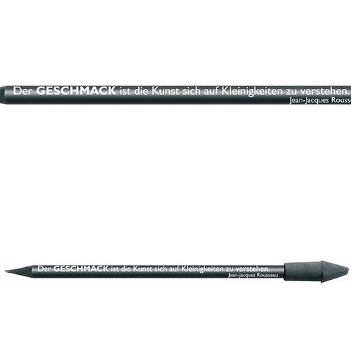 Zitate-Bleistift, Rousseau, Geschmack