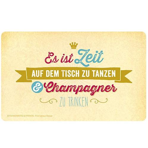 Brettchen »Champagner«