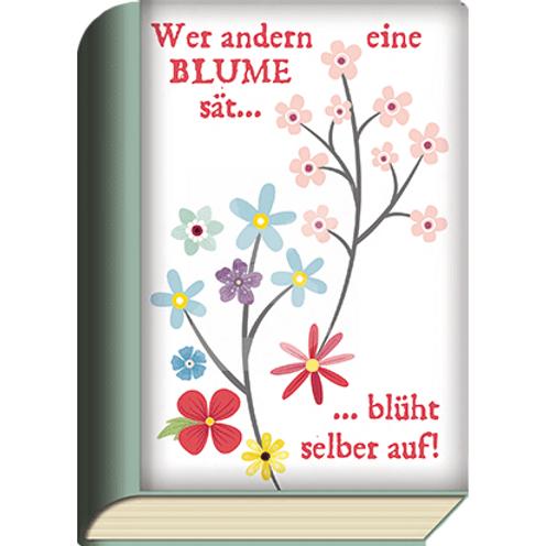 BookCard »Wer andern eine Blume sät ...«