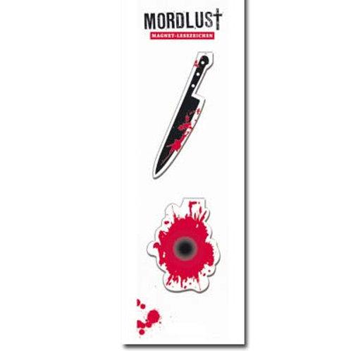 Magnetlesezeichen »Messer«