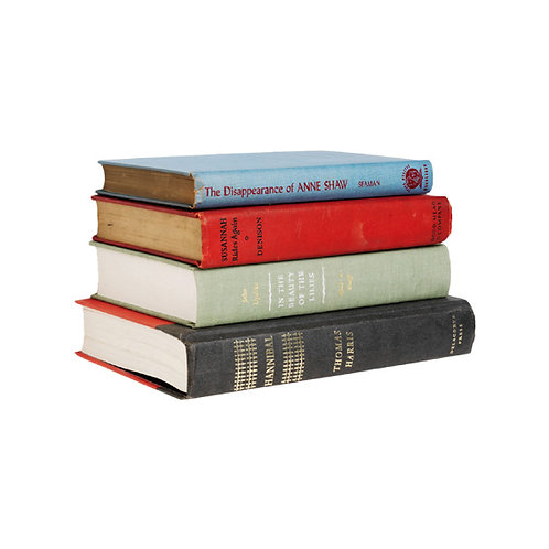 Buchregal »Schwebende Bücher«, klein, weiß