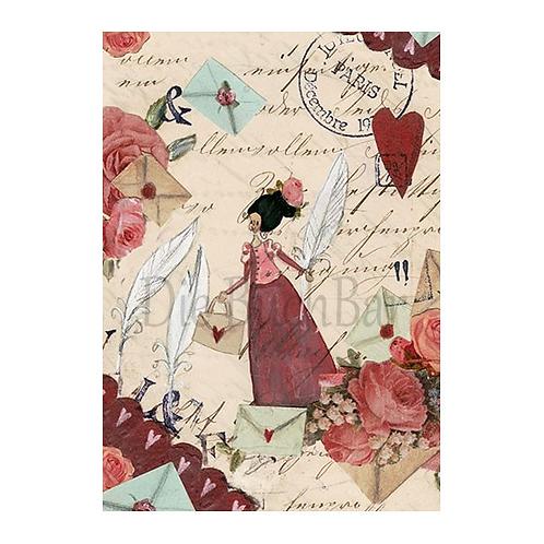 Kunstpostkarte »Paris«