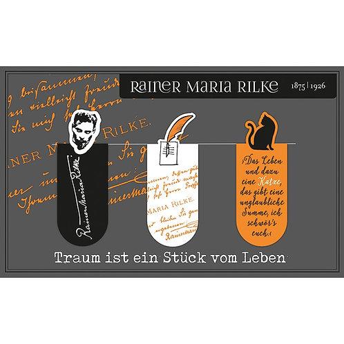Magnetlesezeichen, Rainer Maria Rilke