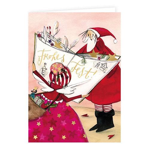 Doppelkarte »Buch der Wünsche«