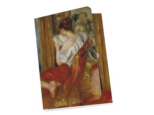 Taschennotizblöckchen »Die lesende Frau«