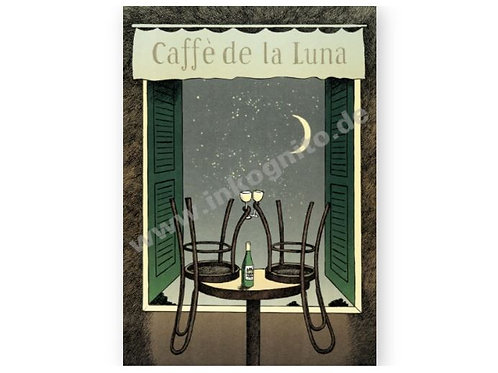 Postkarte »Caffè de la Luna«