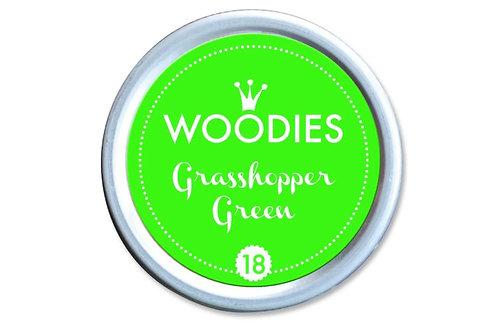 Stempelkissen »Grasshopper Green«, rund