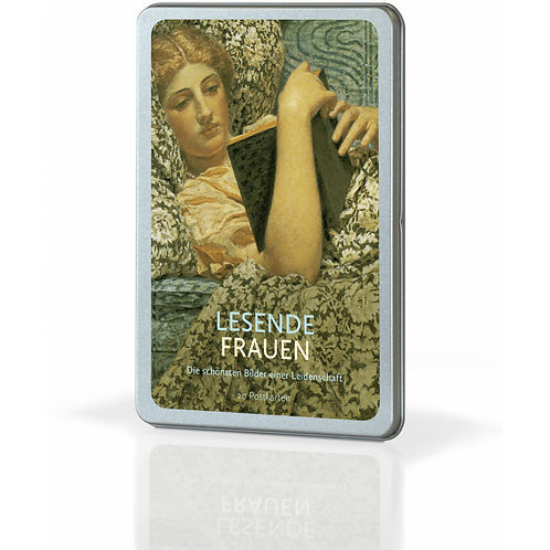 Postkartenset »Lesende Frauen«