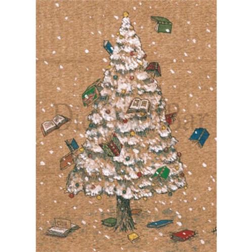 Kunstpostkarte »Merry Books«