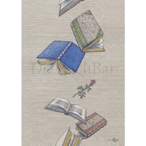 Kunstpostkarte »Dream Books«