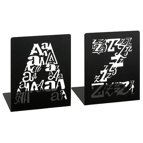 Buchstützen »A bis Z«, Letters