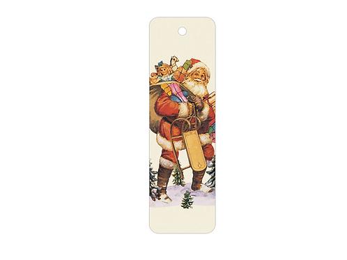 Lesezeichen »Weihnachtsmann, Alte Oblate«