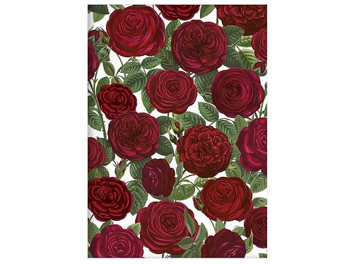 Kladde »Rote Alte Gartenrosen« (A6)