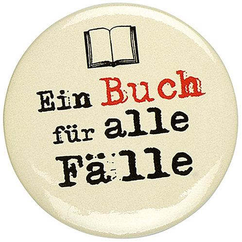 Button »Ein Buch für alle Fälle«