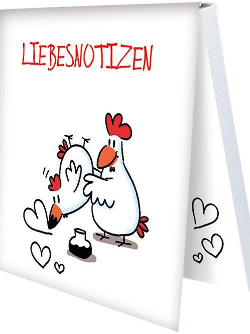 Klebezettel »Liebesnotizen«
