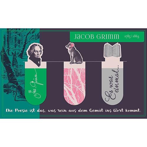 Magnetlesezeichen, Jacob Grimm