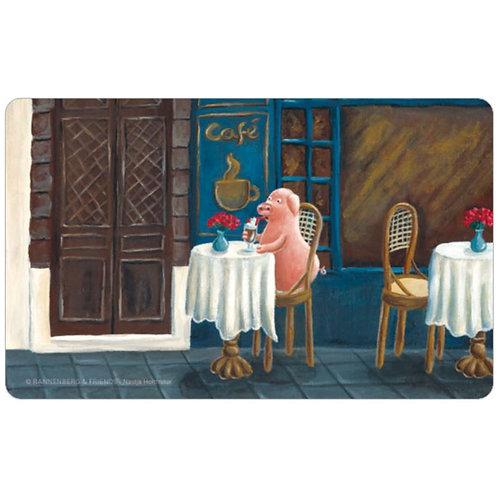 Brettchen »Cafe-Schwein«