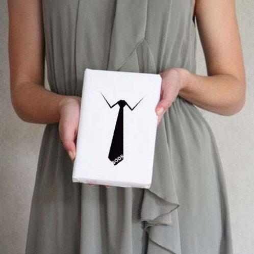 Haute Couture für Bücher, maskulin