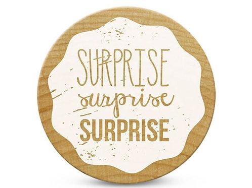 ExLibris-Stempel »Surprise«, rund