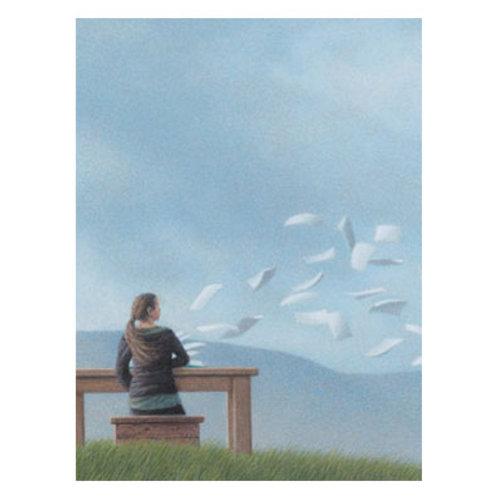 Kunstpostkarte »Sommerwind«