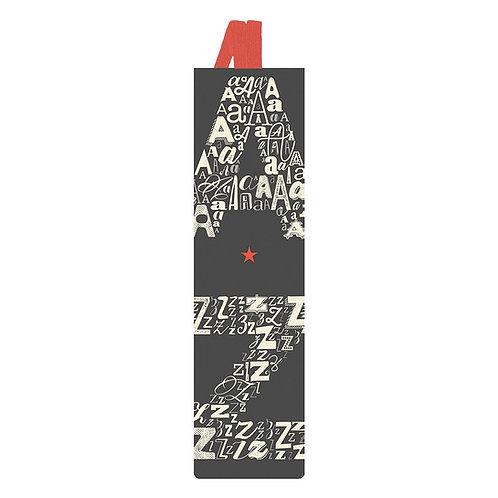 Lesezeichen mit Band »A & Z«