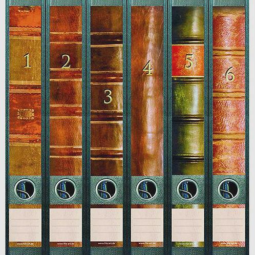 Panorama-Rücken »Old Books« (1-6)