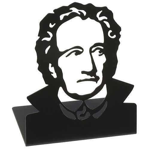 Buchstützen »Goethe«