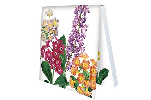 Klebezettel »Primeln der Berge und Orchidee aus dem Nassau Florilegium«