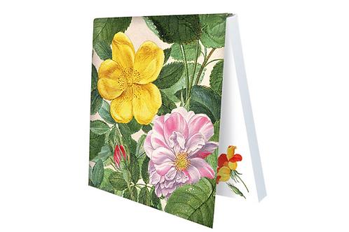 Klebezettel »Rosen aus dem Nassau Florilegium«