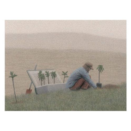 Kunstpostkarte »Vom Bäume pflanzen«