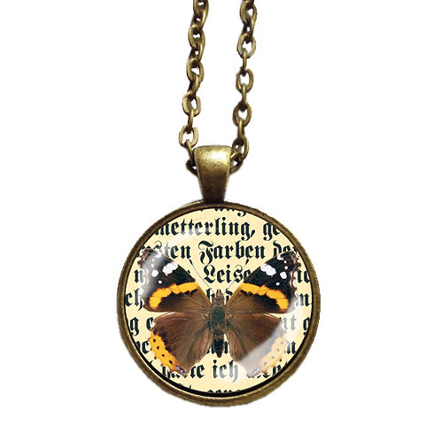 Halskette »Der Schmetterling«