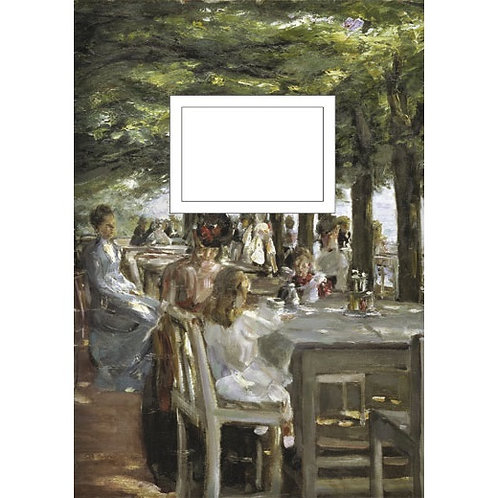 Kladde »Terrasse im Restaurant Jacob« (A5)