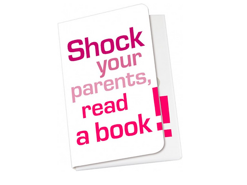 Taschennotizblöckchen »Shock your parents«
