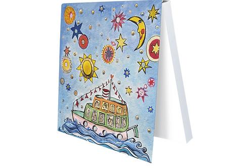 Klebezettel »Das kleine Traumschiff«