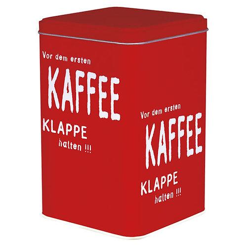 Blechdose »Vor dem ersten Kaffee«