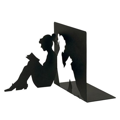 Buchstütze »Lesende Frau«