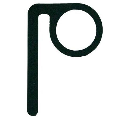 P-Hook, schwarz