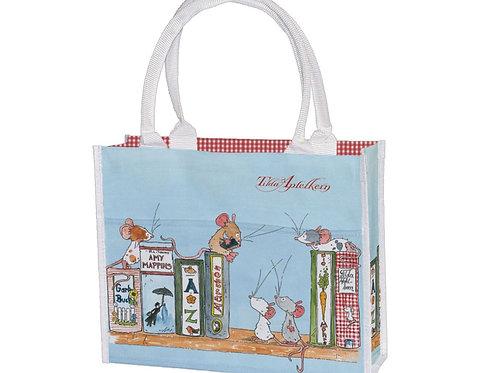 Einkaufstasche »Tilda Bücherregal«