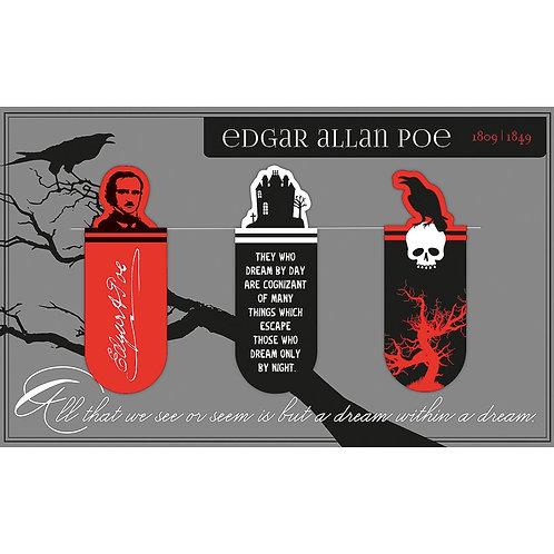 Magnetlesezeichen, Edgar Allen Poe